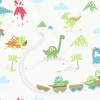 Обои Holden Make Belive Dino Town Multi 12530