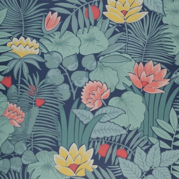 Обои Little Greene 20th Century Papers Reverie - Nile 0288RENILEZ