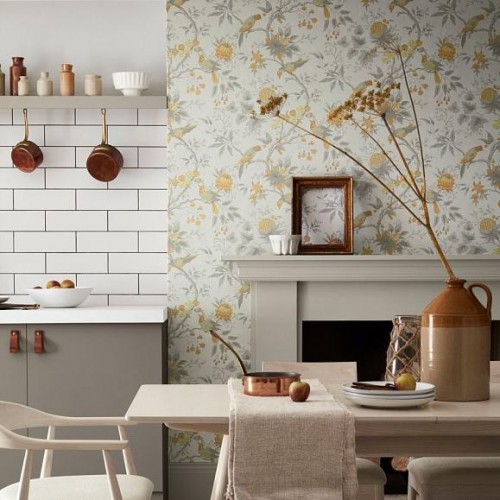 Обои Little Greene Archive Trails II Brooke House 0291BRCINDE