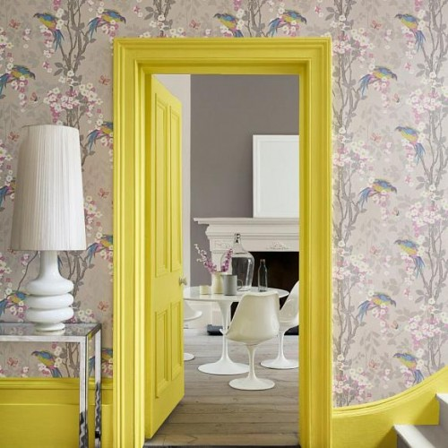Обои Little Greene Archive Trails II Loriini 0291LODORIA