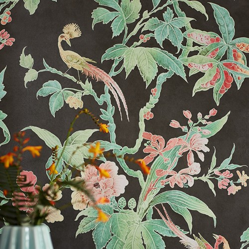 Обои Little Greene Archive Trails Paradise - Nightshade 0247PANIGHT