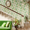 Обои Little Greene Archive Trails Paradise - Feather  в интерьере