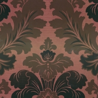 Обои Little Greene  Révolution Papers Bonaparte - Red Gold