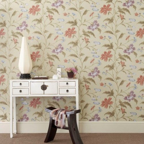 Обои Little Greene Archive Trails China Rose - Bronze 0275CHBRONZ