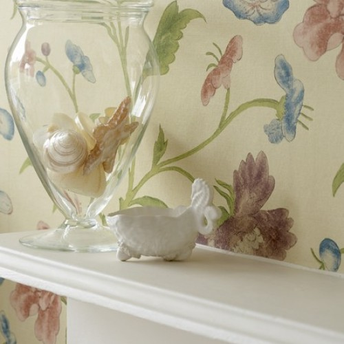 Обои Little Greene Archive Trails China Rose - Sage 0275CHSAGEZ
