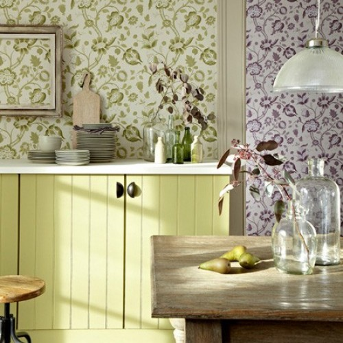 Обои Little Greene London Wallpapers III High Street - Eden 0282HGEDENZ