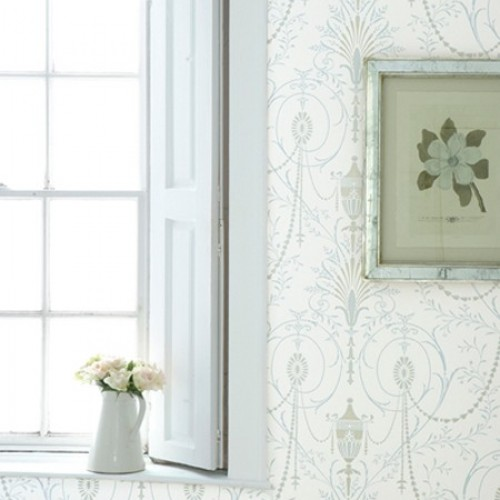 Обои Little Greene London Wallpapers II Marlborough - Crystal 0273MACRYST