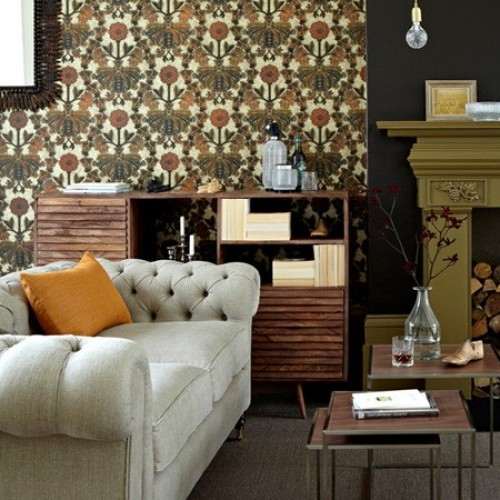 Обои Little Greene London Wallpapers III New Bond Street - Burnish 0282NBBURNI