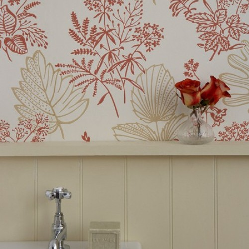 Обои Little Greene 1950s Wallpaper Norcombe - Jazz