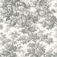 Обои Little Greene  Révolution Papers Stag Toile - Moss