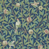Обои Morris Archive Wallpapers II Bird & Pomegranate 212540