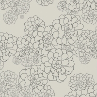 Обои Paint and Paper Library Tresco Aeonium Cotton 0393AECOTTO