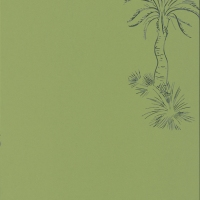 Обои Paint and Paper Library Tresco Lighthouse Palm Chelsea Green 0393LPCHELS