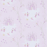Обои Sanderson Abracazoo Wallpapers Fairy Castle 214046