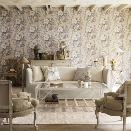Обои Sanderson Fabienne Wallpapers Giselle 214088