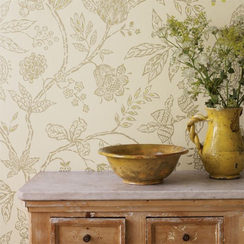 Обои Sanderson Fabienne Wallpapers Solaine 214085