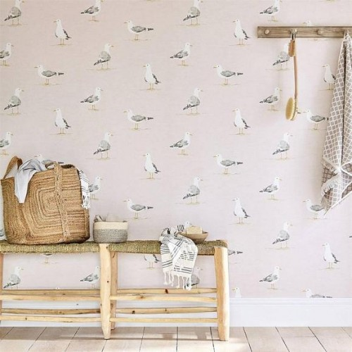 Обои Sanderson Port Isaac Shore Birds 216562