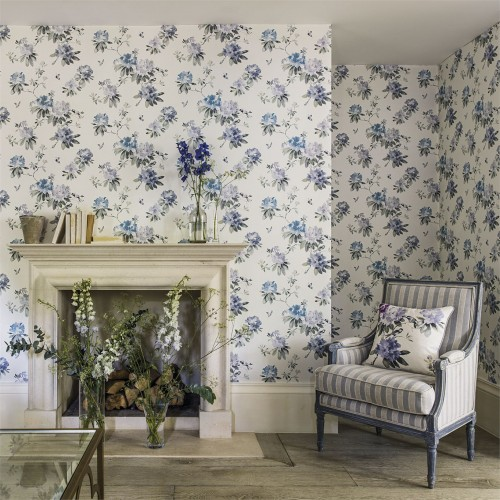 Обои Sanderson Waterperry Wallpapers Rhodera 216263
