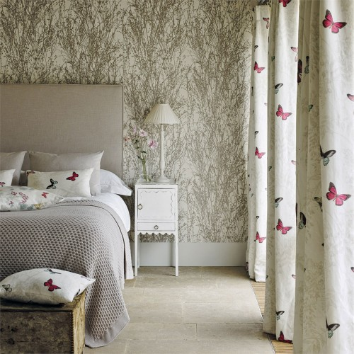 Обои Sanderson Woodland Walk Wallpapers Meadow Canvas 215693