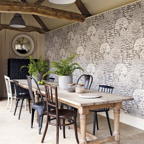 Обои Sanderson Woodland Walk Wallpapers Woodland Toile 215716