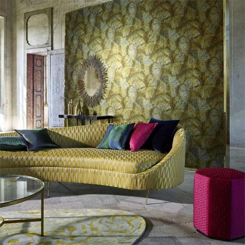 Обои Zoffany The Muse Wallpaper Taisho Deco 312748