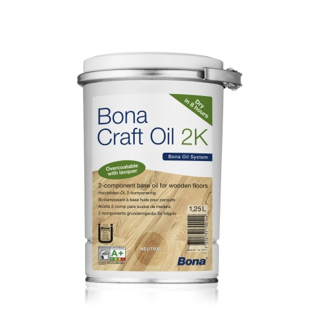 Масло Bona Craft Oil 2K Графит Graphite