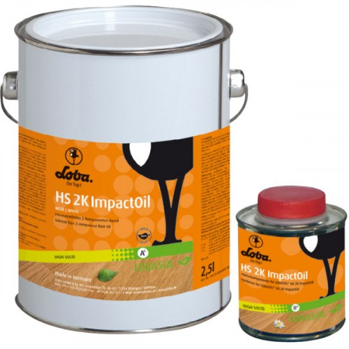 Цветное масло Lobasol HS 2K ImpactOil Color