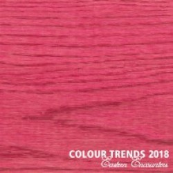 Масло Rubio Monocoat Oil Plus 2C Trend Color 2018 Pomegranate Pink Выкрас на дубе