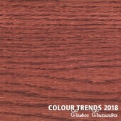 Масло Rubio Monocoat Oil Plus 2C Trend Color 2018 Rusty Brown Выкрас на дубе