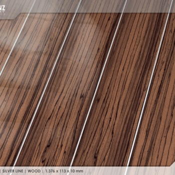 Ламинат Falquon Silver Line Wood Ebony Makassar