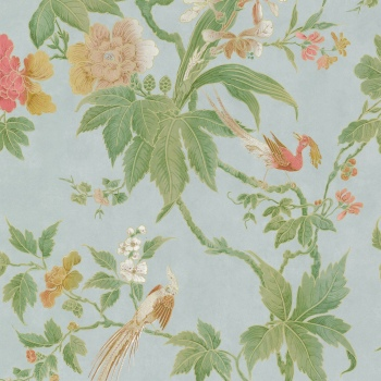 Обои Little Greene Archive Trails Paradise - Blue