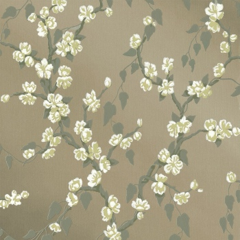Обои Little Greene Archive Trails Sakura - Metal Lustre
