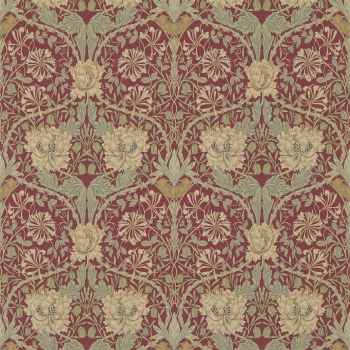 Обои Morris Archive Wallpapers III Honeysuckle & Tulip 214700
