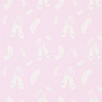 Обои Sanderson Abracazoo Wallpapers Ballet Shoes 214022