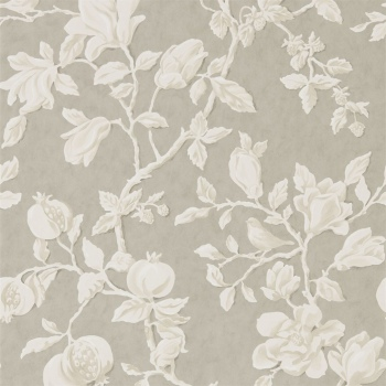 Обои Sanderson Woodland Walk Wallpapers Magnolia & Pomegranate 215722