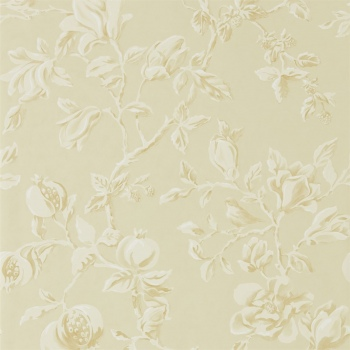 Обои Sanderson Woodland Walk Wallpapers Magnolia & Pomegranate 215723