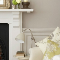 Краска Little Greene цвет French Grey (113) в интерьере