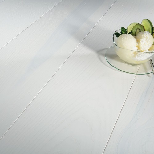 Паркетная доска Barlinek Pure ясень Lime Sorbet White Grande