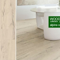 Паркетная доска Corkstyle Wood Alpine Oak White