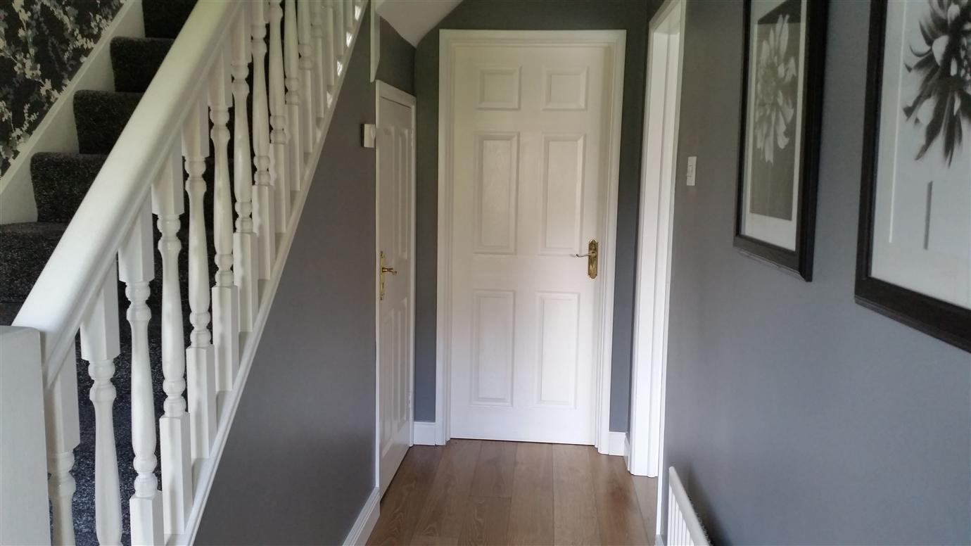 Manor House Grey Paint In Hallway
