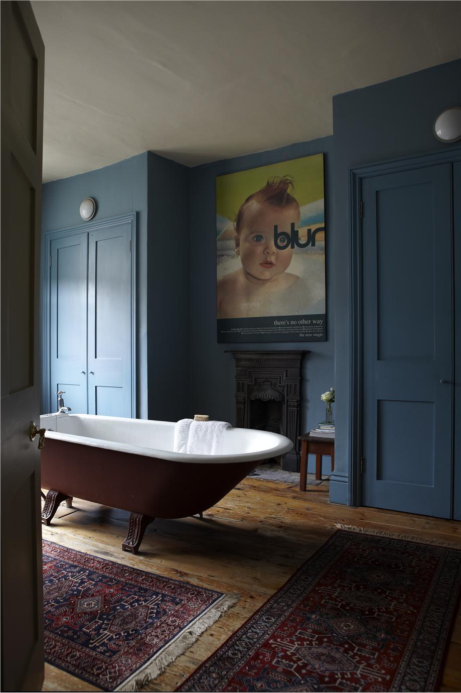Краска Farrow Amp Ball цвет Stone Blue 86 купить в интернет